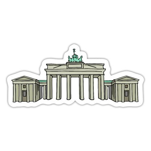 Brandenburg Gate Berlin - Sticker
