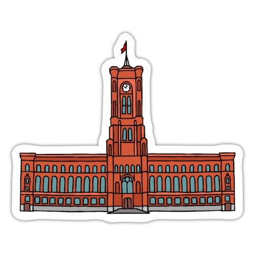Red City Hall Berlin - Sticker