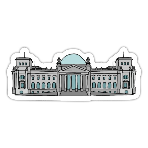 Reichstag building Berlin - Sticker