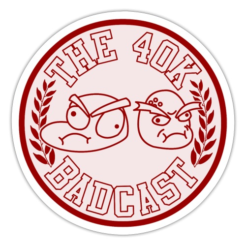 Badcast Logo - Sticker