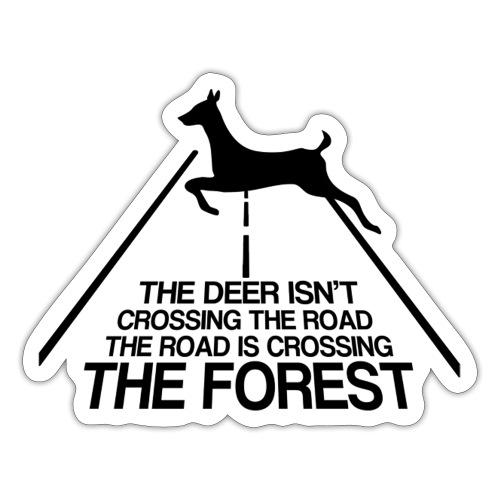 Deer's forest - Sticker