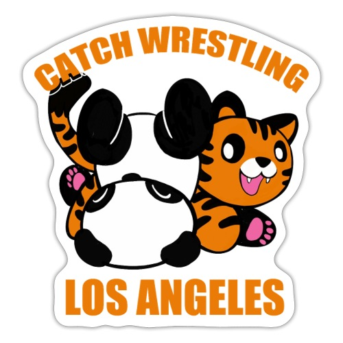 Catch Wrestling Los Angel - Sticker