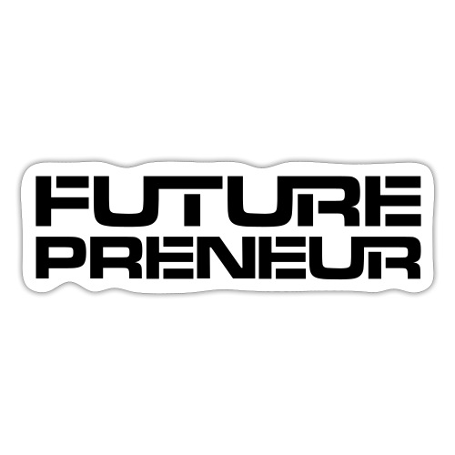 Futurepreneur (1-Color) - Sticker
