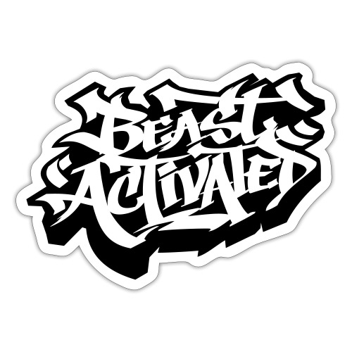 Beast Activated (2-Color) - Sticker