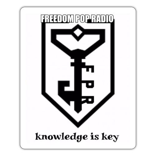 Knowledge is key Tee - Sticker