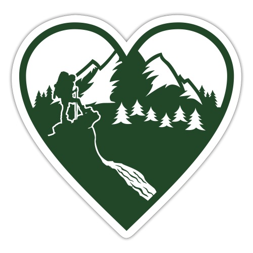 Hiking Love - Sticker