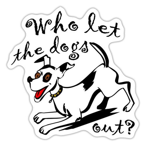 Happy Dog - Sticker