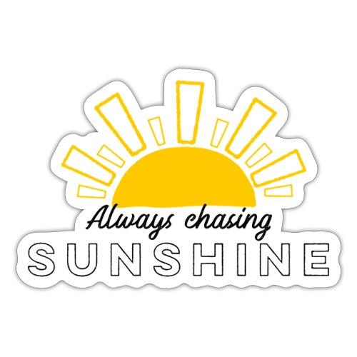 Always Chasing Sunshine Cap - Sticker
