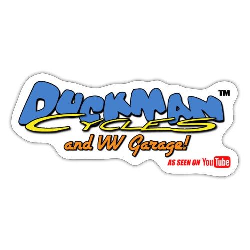 DuckmanCycles and VWGarage - Sticker