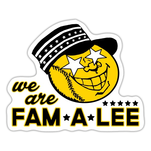 We Are Fam A Lee - Sticker