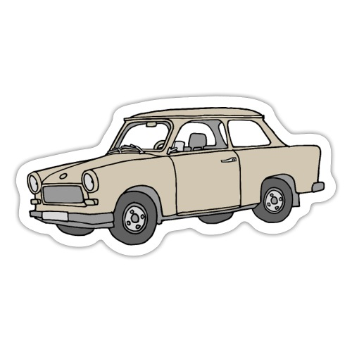 Trabant (papyrus car) - Sticker