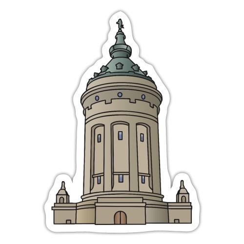 Mannheim water tower - Sticker