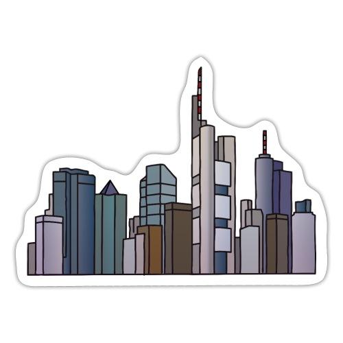Frankfurt skyline - Sticker