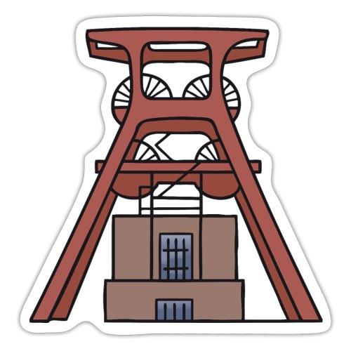 Zollverein Coal Mine Industrial Complex in Essen - Sticker