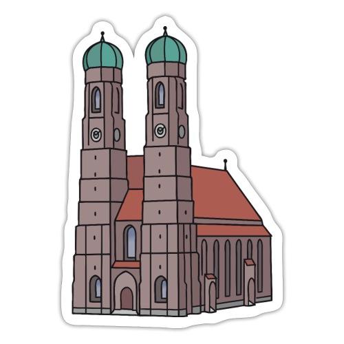 Munich Frauenkirche - Sticker