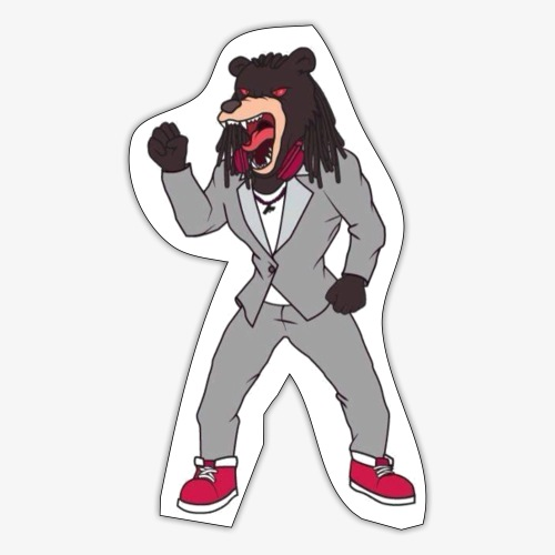 KMATiKC bear - Sticker