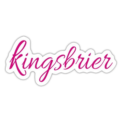 Kingsbrier - Sticker