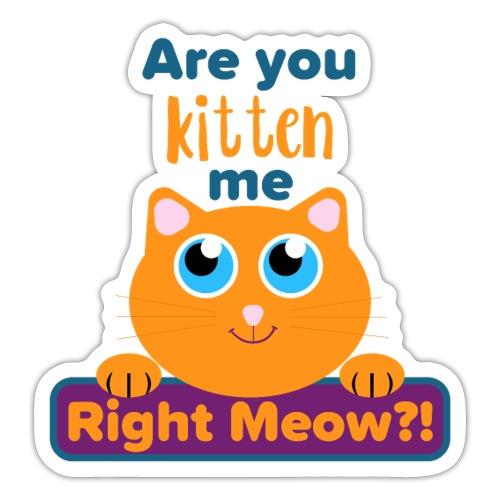 Funny Kitten - Sticker
