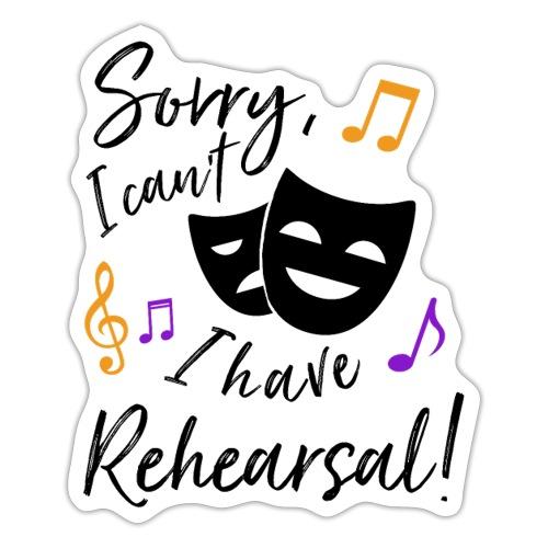 Rehearsal - Sticker