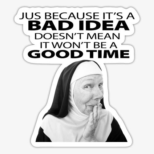 nuns - Sticker