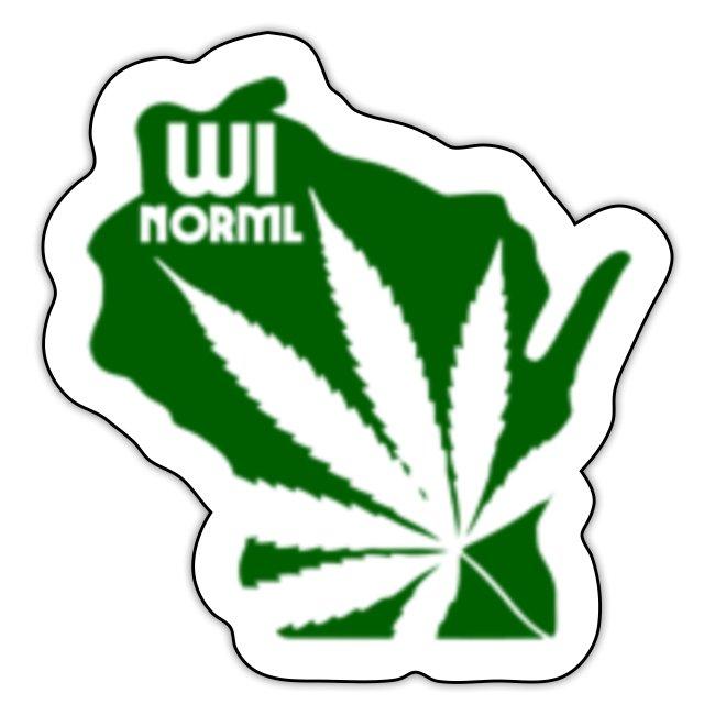 Wisconsin NORML Sticker