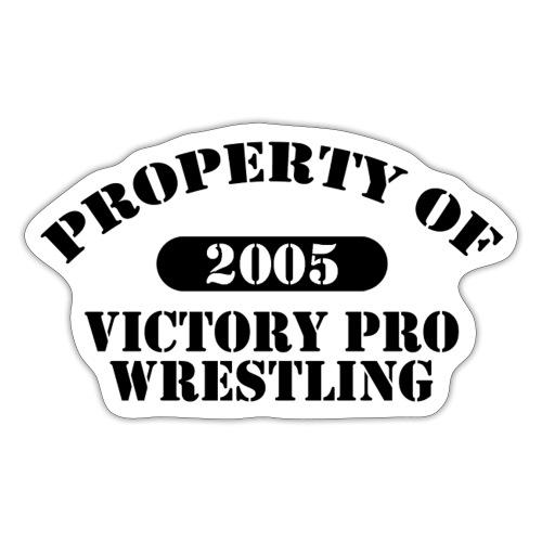 Property of Victory Pro Wrestling - Sticker