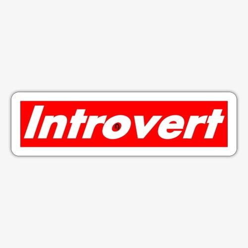 Introvert - Sticker