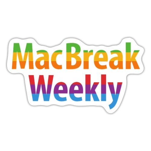 MacBreak Weekly podcasts - Sticker
