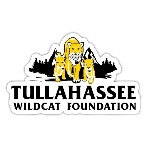 Tullahassee Wildcat Foundation PPE Mask - Sticker
