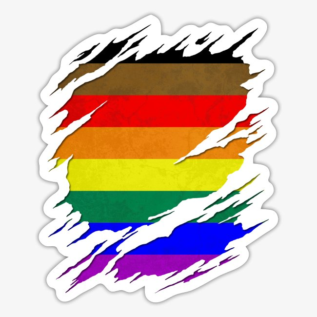 Philly LGBTQ Gay Pride Flag Ripped Reveal