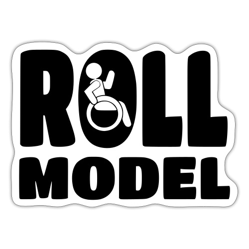 Wheelchair Roll model - Sticker