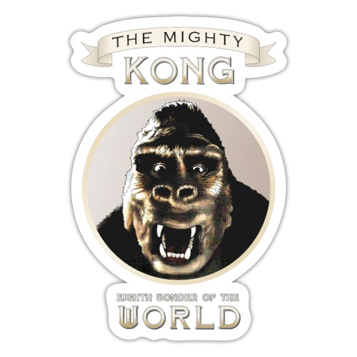 Classic Kong - Sticker