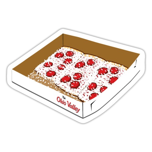 OV Pizza Box - Sticker