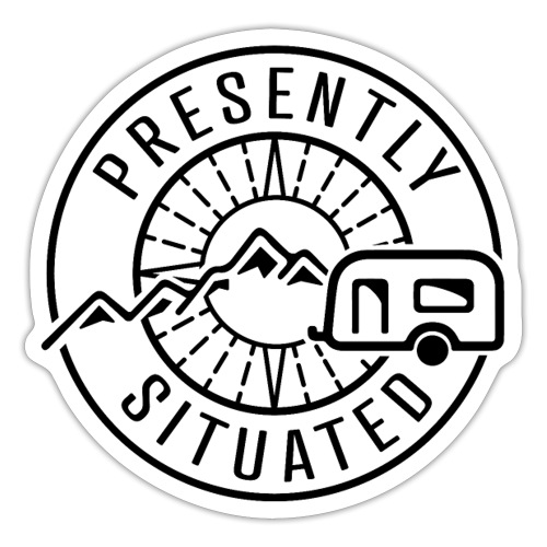 Presently Situated Logo - Sticker