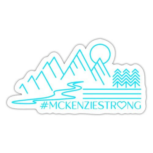 McKenzie Strong TEAL - Sticker