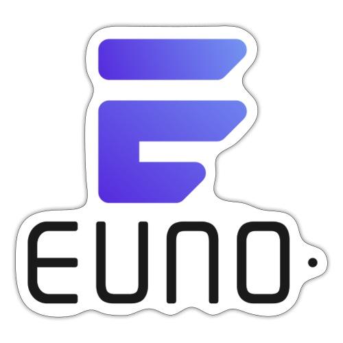 EUNO LOGO POTRAIT BLACK FONT - Sticker