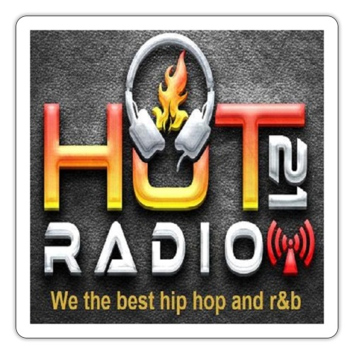 Hot 21 Radio - Sticker