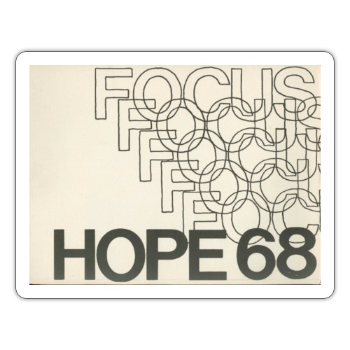 Vintage Focus: HOPE Logo - Sticker