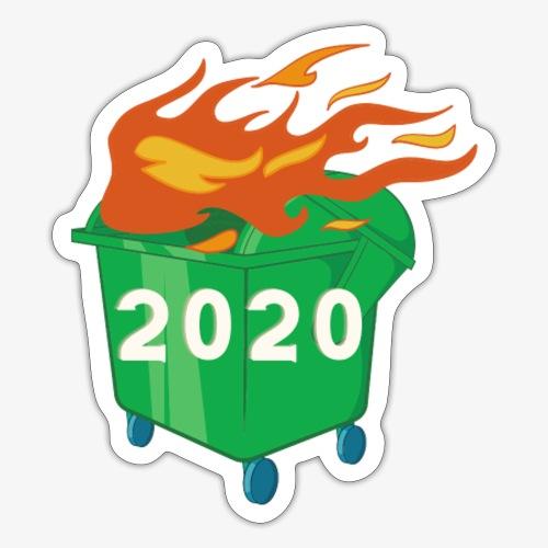 2020 Dumpster Fire - Sticker