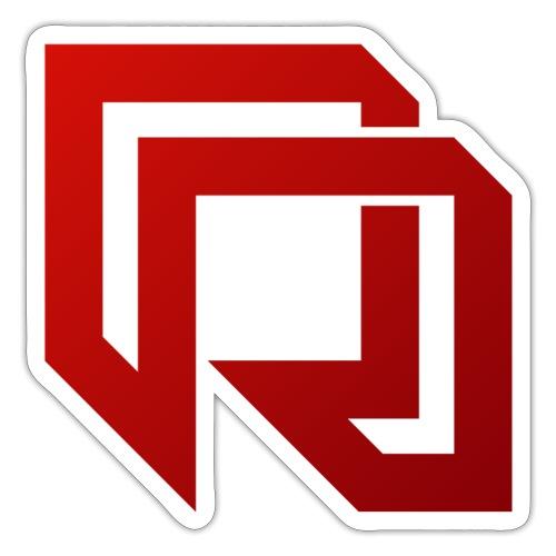 Red Iron Icon (Red) - Sticker