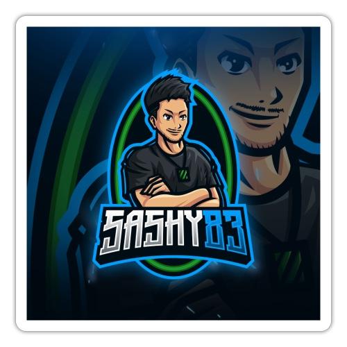 Sashy83 full logo - Sticker