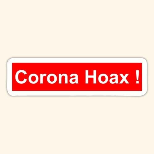 Korona corona hoax - Sticker