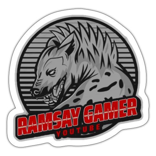 Ramsay Gamer Logo 2 - Sticker