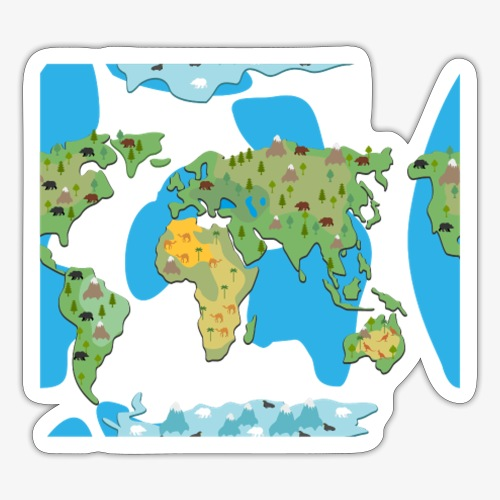 Animated Earth - Sticker
