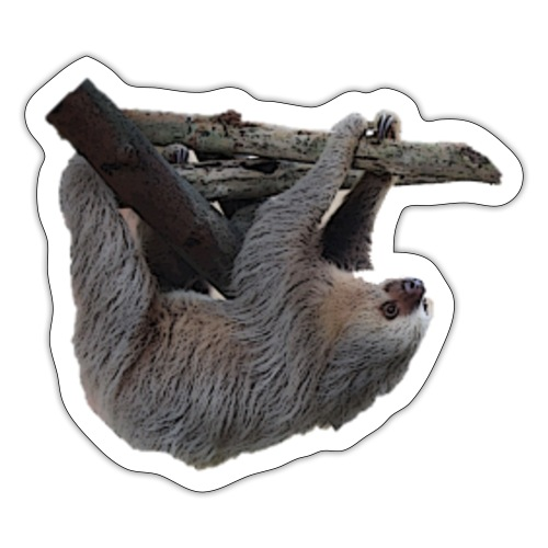 Two - fingered sloth sticker - Sticker