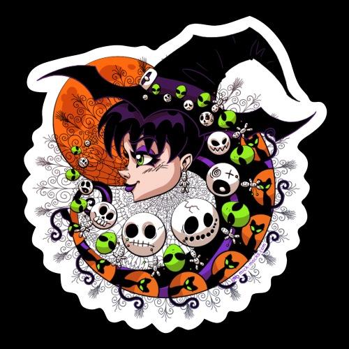 Halloween 2020 VioleNt Streak Sticker - Sticker