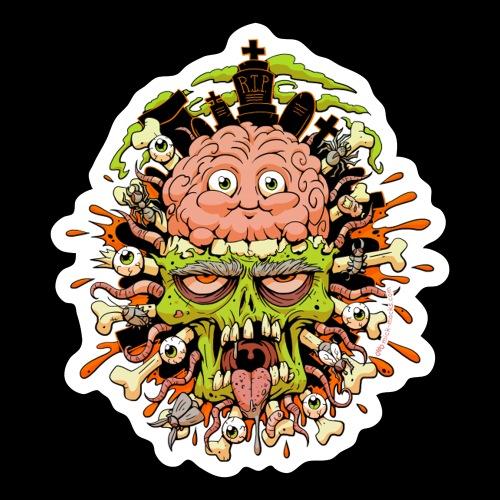 Halloween 2020 Lost My Mind Sticker - Sticker