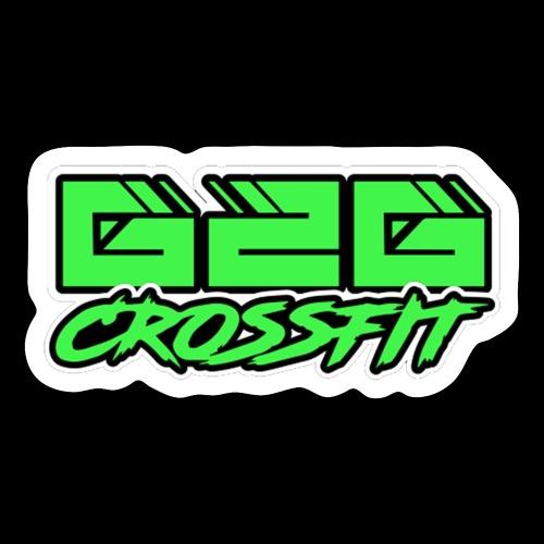 Electrifying Green Half G2G Logo - Sticker
