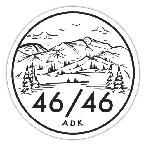 The High Peaks - Sticker