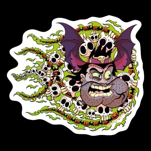 Halloween 2020 Ranger Dentface Sticker - Sticker